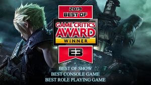 Final Fantasy VII Remake Named Best of Show by E3 2019 Game Critics Awards