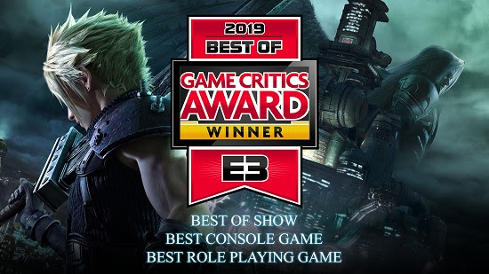 Final-Fantasy-VII-Remake-E3 Final Fantasy VII Remake Named Best of Show by E3 2019 Game Critics Awards