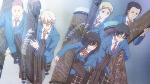What are Japanese Uniforms as Seen in Kono oto Tomare! (Kono Oto Tomare!: Sounds of Life)? [Definition; Meaning]