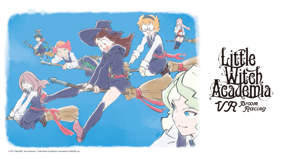 LWAVR_TeaserVisual-560x315 The Kickstarter to Make Little Witch Academia into a VR Game is Now Underway!