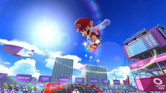 Mario-and-Sonic-Olympics-2020-560x315 Así será Mario & Sonic at the Olympic Games Tokyo 2020, exclusivo de Nintendo Switch