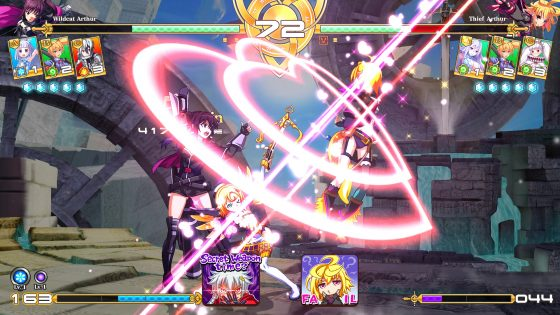Million-Arthur-Arcana-Blood-Logo Over-the-top 2D fighter Million Arthur: Arcana Blood now available!