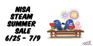 Steam Summer Sale Begins | All NISA PC Titles on Sale!