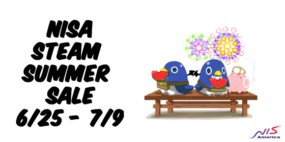 NISA-Steam-Summer-Sale-Logo-560x280 Steam Summer Sale Begins | All NISA PC Titles on Sale!
