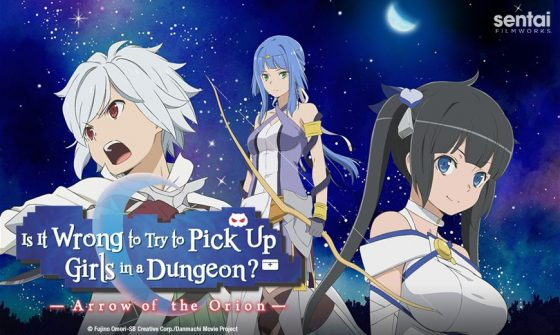 "Sentai-Filmworks_Isitwrongtopickupgirls_Danmachi-Movie_Blog-Header-1-560x335 Sentai Filmworks to Host Original Creator and Producers of ""Is It Wrong to Try to Pick Up Girls in a Dungeon?"" at Anime Expo 2019 for Feature Film Premiere and Exclusive Q&A"