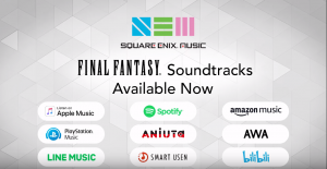 Square Enix Music Library Coming to Global Streaming Platforms!