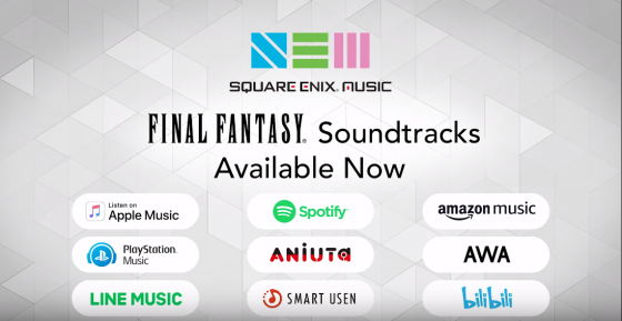 Square-Enix-Music-560x289 Square Enix Music Library Coming to Global Streaming Platforms!