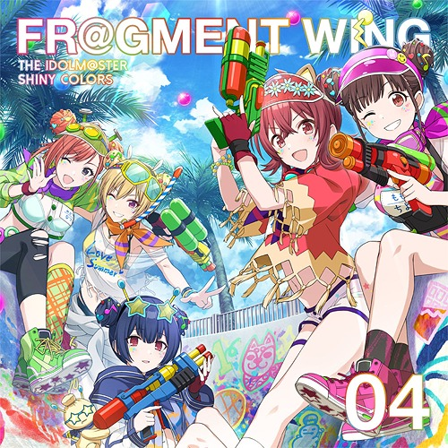 THE-IDOLM@STER-SHINY-COLORS-FR@GMENT-WING-04 Weekly Anime Music Chart  [07/08/2019]