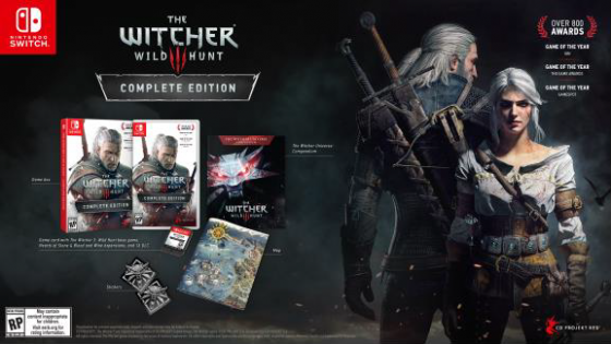 The-Witcher-3-Nintendo-Switch-560x315 [E3 2019] The Witcher 3: Wild Hunt Complete Edition is coming to Nintendo Switch this year!