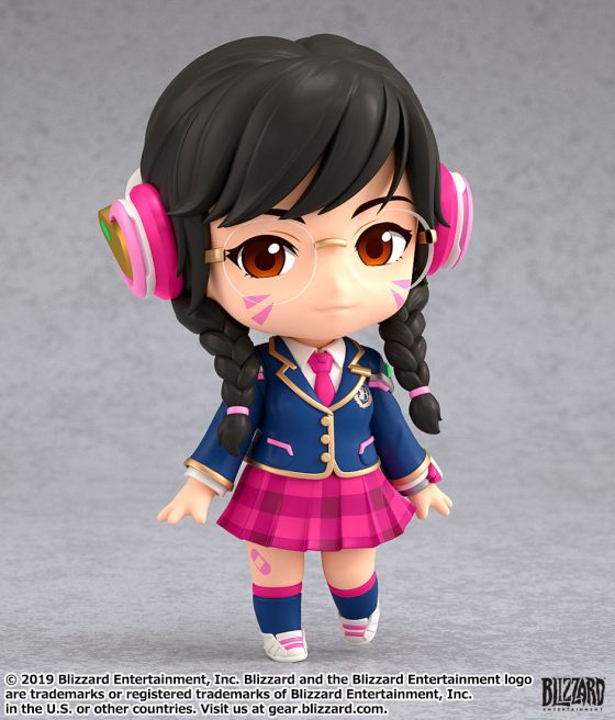 dva_pose_00001_re2-560x553 Good Smile Company's newest figure, Nendoroid D.Va: Academy Skin Edition is now available for pre-order!