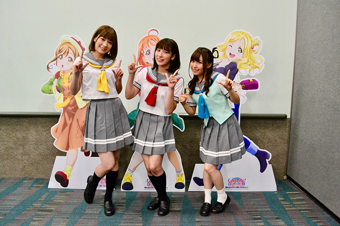 Aqours-Wallpaper Aqours Interview - Anime Expo 2019