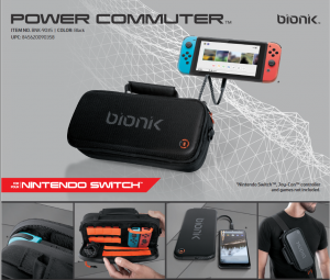 Store and Charge Your Nintendo Switch with Bionik's Power Commuter -- Now Available