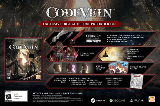 Code-Vein_BS_DDE_MULTI_ENG_1562085528-new-560x369 CODE VEIN Digital Deluxe Edition Now Available for Pre-Order