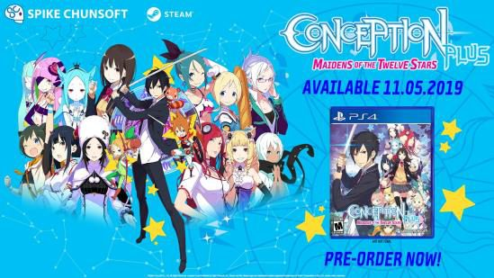 Conception-Plus-SS-1-560x308 CONCEPTION PLUS: MAIDENS OF THE TWELVE STARS Game Overview Trailer Officially Released!