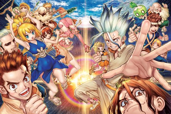 Dr.-Stone-300x450 6 Anime Like Dr. Stone [Recommendations]