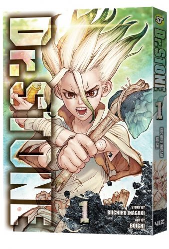 DrStone-GN01-3D-339x500 DR. STONE Manga Creators Will Attend Anime NYC 2019 In November