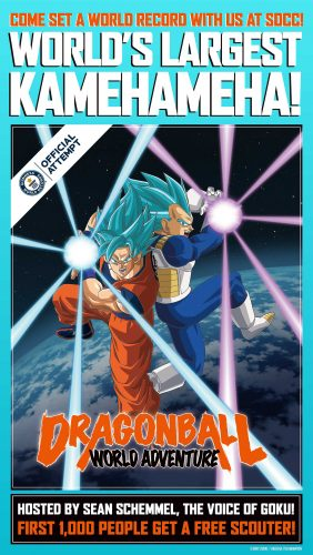 Dragon-Ball-World-Adventure-1-282x500 2019 Dragon Ball World Tour Kicks Off at San Diego Comic-Con - Fans Invited to Be Part of Guinness World Records Attempt on Opening Day!