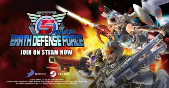 "Earth-Defense-Force-5-Steam-560x293 Commence ""Operation Sweep Giant Insects"" as EARTH DEFENSE FORCE 5 Deploys Today onto Steam"