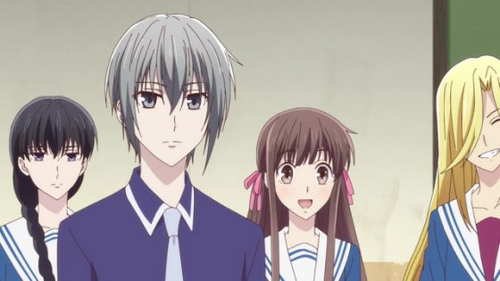 "Fruits-Basket-Wallpaper-300x415 Fruits Basket First Cours Review - ""A Girl and a House Full of Craziness"""