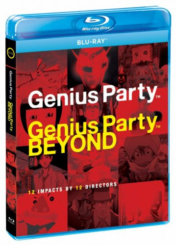Genius-Party-Box-Art-359x500 Animated Short Anthologies 'Genius Party' & 'Genius Party Beyond' on Blu-ray October 15 from GKIDS, Shout! Factory