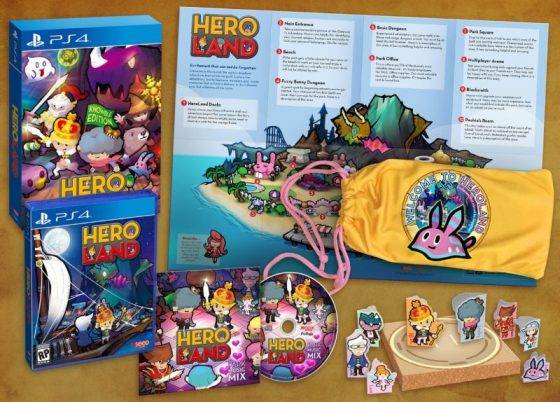 Hero-Land-KV-560x364 Calling all Part-Time Heroes! Heroland Opens Preorders for Nintendo Switch and PlayStation 4