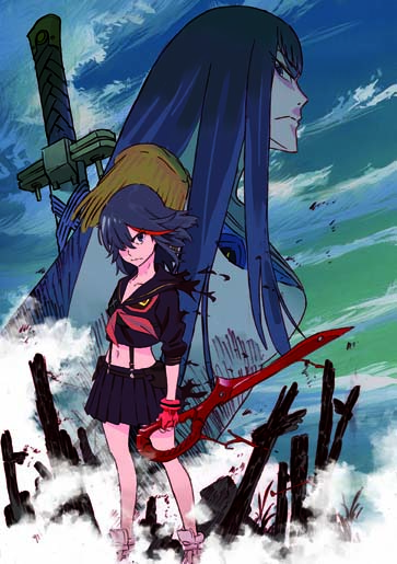 Kill-la-Kill-KV Aniplex of America Announces KILL la KILL Complete Blu-ray Box Set Release this Christmas!