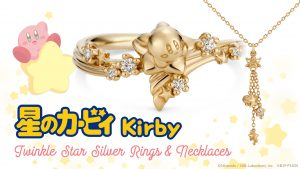 Pre-orders for Kirby Twinkle Star Silver Accessories Are Now Open!