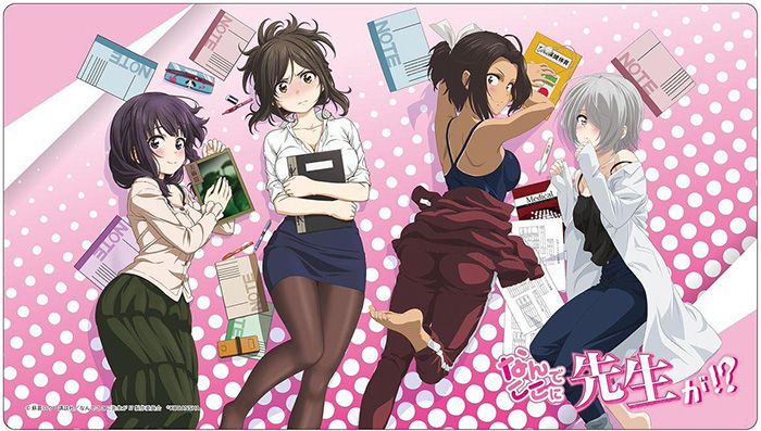 Nande-Koko-ni-Sensei-ga-Why-the-hell-are-you-here-Teacher-Wallpaper Nande Koko ni Sensei ga!? (Why the hell are you here, Teacher!?) Review - The Clumsiest People on Earth