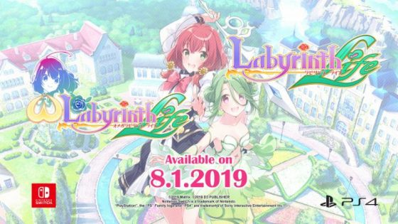 Omega-Labyrinth-Life-KV-560x315 Omega Labyrinth Life and Labyrinth Life Busting onto Nintendo Switch and PlayStation 4 Globally on August 1