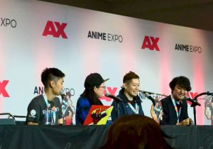 Fire Force Panel and Live Drawing with Atsushi Ookubo - Anime Expo 2019