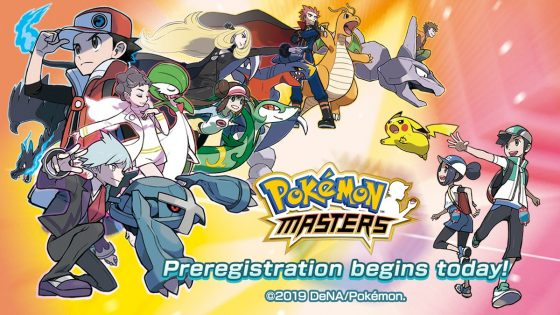 Pokemon-Masters-Pre-Reg-SS-560x315 Pre-Registration Begins Today for Pokémon Masters, a New Adventure Coming to Mobile Devices in Summer 2019