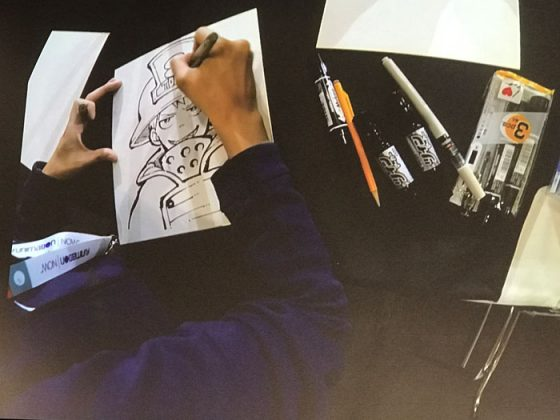Panel-Fire-Force-Panel-and-Live-Drawing-with-Atsushi-Ookubo-capture Fire Force Panel and Live Drawing with Atsushi Ookubo - Anime Expo 2019
