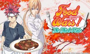 "Sentai Filmworks Serves Up Dubbed Home Video Release of ""Food Wars! The Third Plate"""
