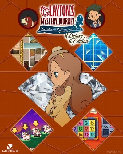 Switch_LAYTONSMYSTERYJOURNEYDeluxe_artwork_01-400x500 LAYTON'S MYSTERY JOURNEY: Katrielle and the Millionaires' Conspiracy - Deluxe Edition Launches for Nintendo Switch on Nov. 8