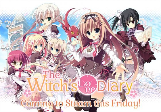The-Witchs-Love-Diary-KV-560x390 Witch's Love Diary Coming to Steam on July 26th!