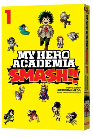 New MY HERO ACADEMIA Manga & AUTOMATIC EVE Novel From VIZ Media For August