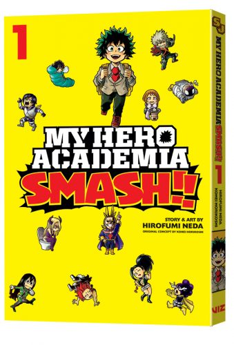 VIZ New MY HERO ACADEMIA Manga & AUTOMATIC EVE Novel From VIZ Media For August