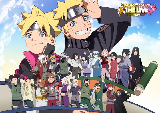 "naruboru_KV-560x398 ""NARUTO"" 20th Anniversary NARUTO to BORUTO THE LIVE 2019 KV Released + More!"