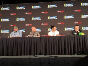 Voice Acting For Video Games Panel - Florida Supercon 2019