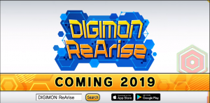 Pre-Register Now for DIGIMON ReArise, Hatching Onto Mobile Devices Later This Year