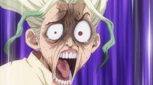 Top 5 Reaction Faces from Dr. Stone