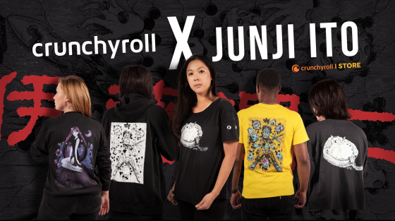 Junji-Ito-CRX-Exclusives-560x313 Crunchyroll Reveals Exclusive Junji Ito & CRX Streetwear Collections