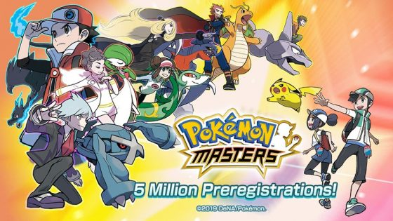Pokemon-Masters-5mil-Pre-Reg-560x315 Pokémon Masters Surpasses 5 Million Pre-Registrations