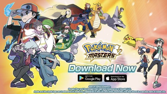 Pokemon-Masters-Out-Now-SS-560x315 Embark on a New Pokémon Adventure Today with the Launch of Pokémon Masters Worldwide on Android and iOS Devices