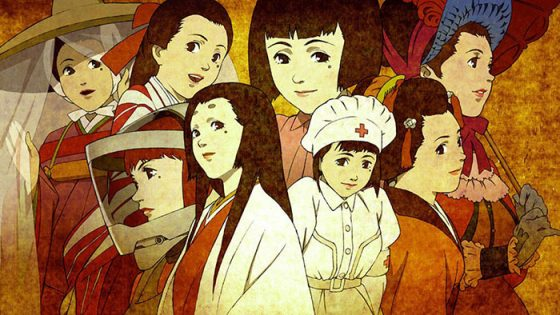 Sennen-Joyuu-wallpaper Sennen Joyuu (Millennium Actress) Theatrical Re-Release Review - 1000 Years of Magic
