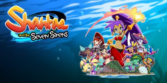 Shantae-and-the-Seven-Sirens-SS-1-560x280 WayForward Reveals Official Title and New Details for Shantae and the Seven Sirens!