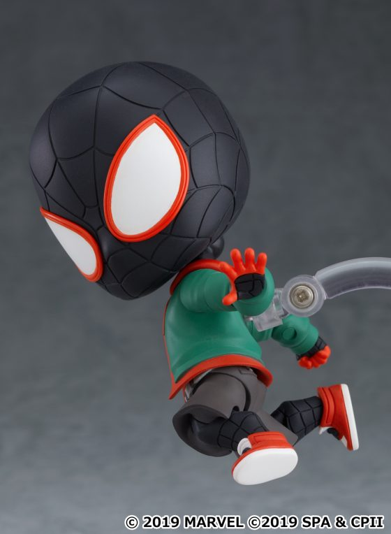 Spider-Verse-Miles-SS-24-560x373 Good Smile Company's newest figure, Nendoroid Miles Morales: Spider-Verse Edition DX Ver. is now available for pre-order!