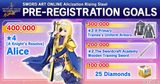 Sword-Art-Online-Rising-Steel-Key-Art-560x293 Pre-Registration Now Open for SWORD ART ONLINE Alicization Rising Steel