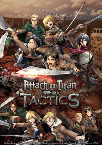 "Attack-on-Titan-Tactics-Logo-353x500 DeNA and Crunchyroll Games launches ""Attack on Titan TACTICS"""