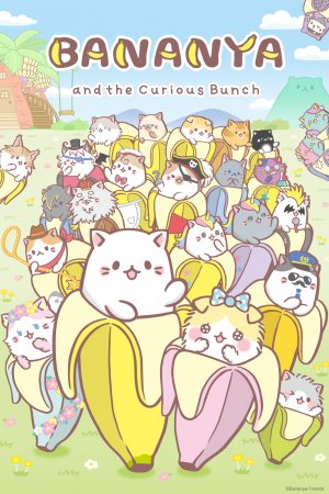"Crunchyroll Officially Announces ""Bananya"" and ""BLACKFOX"" Premieres"